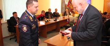 Ректор МПГУ академик Алексей Львович Семенов награжден медалью ФСКН