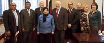 Встреча ректора МПГУ с министром высшего образования Доминиканской Республики: намечены пути сотрудничества
