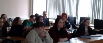 Встреча с коллегами из Адыгеи на кафедре олигофренопедагогики