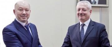 Встреча проректора по международной деятельности К.П. Доценко с представителями Всероссийского Азербайджанского Конгресса