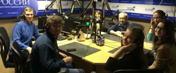 В гостях на «Радио России»