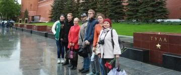 Экскурсия по Москве в честь 70-летия Великой Победы