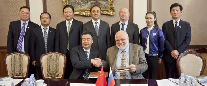 Российско-китайский педагогический университет искусств создадут  в Китае МПГУ и Вэйнаньский педагогический университет