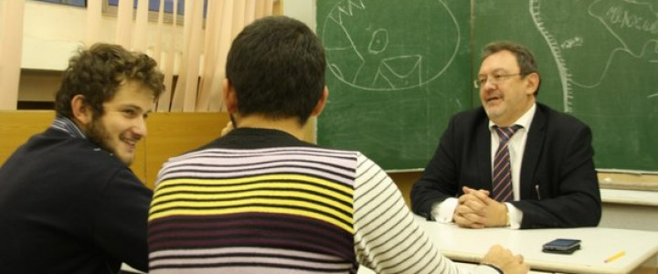 Встреча студентов ИИП с директором Института Ананченко Алексеем Брониславовичем