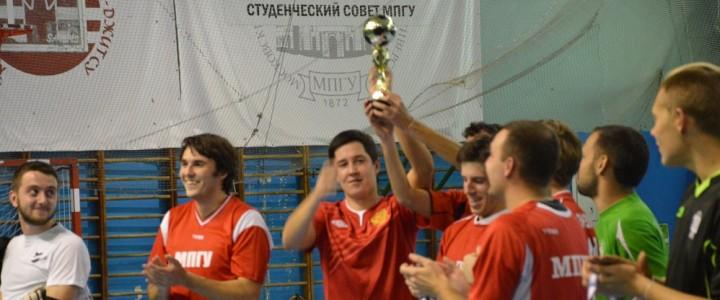 В МПГУ прошел турнир по мини-футболу за Кубок памяти академика В.Л. Матросова