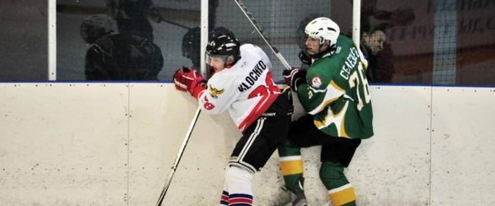 Хоккейная команда МПГУ одержала очередную победу