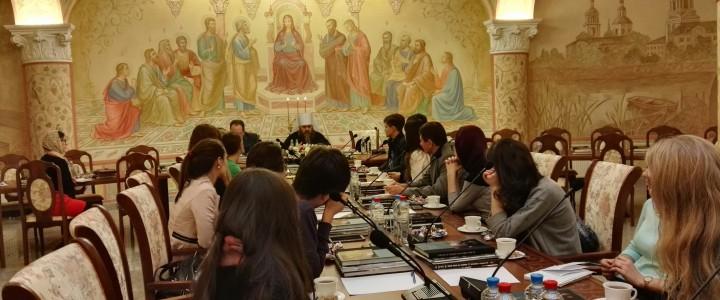 16 ноября 2015 года состоялась встреча молодых юристов с известным церковным деятелем митрополитом Нижегородским и Арзамасским Георгием.