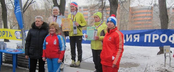 В Измайловском парке прошли соревнования «Московская лыжня»