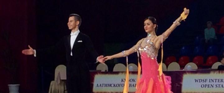 Студент ИСГО стал серебряным призёром на XIV международном турнире по спортивным танцам «Кубок Латинского квартала»
