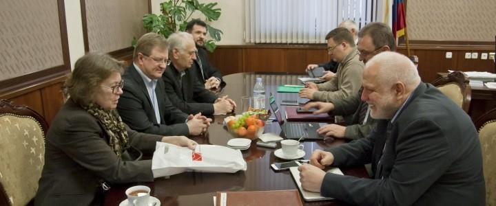 Состоялась встреча ректора МПГУ и сопредседателя «Зиновьевского клуба» МИА «Россия сегодня»