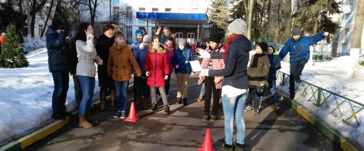 Провожаем зиму весело: спортивный праздник в школе-интернате провели наши студенты
