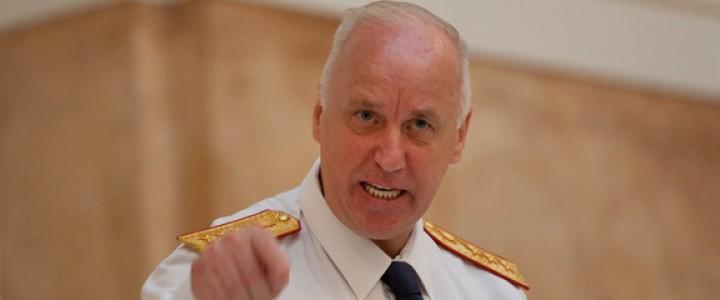 Глава Следственного комитета России Александр Бастрыкин:  «Пора поставить действенный заслон информационной войне»