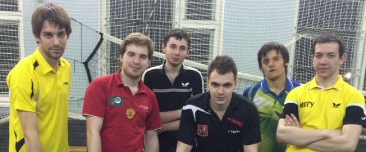 Поздравляем сборную МПГУ по настольному теннису со вторым местом в Чемпионате XXVIII Студенческих Спортивных Игр