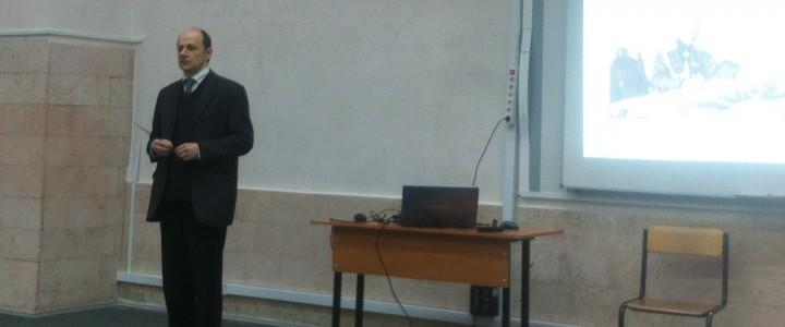 В МПГУ прошла лекция «Брусиловский прорыв 1916 года – «коренной перелом» в Первой мировой войне (к 100-летнему юбилею)»