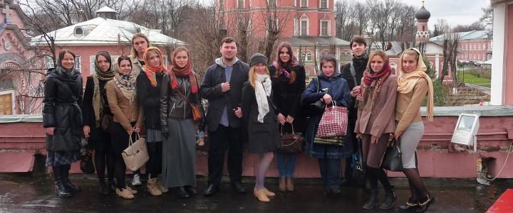 Экскурсия студентов кафедры культурологии в Свято-Донском монастыре