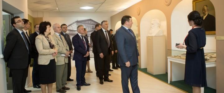 На юбилее музея истории медицины первого МГМУ имени И.М. Сеченова