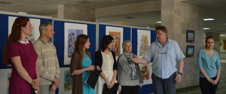 Выставка творческих работ школы искусств г. Лангепаса