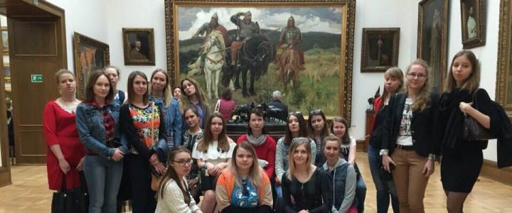 Практические занятия в Третьяковской галерее