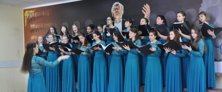 Первокурсники прошли хоровой практикум