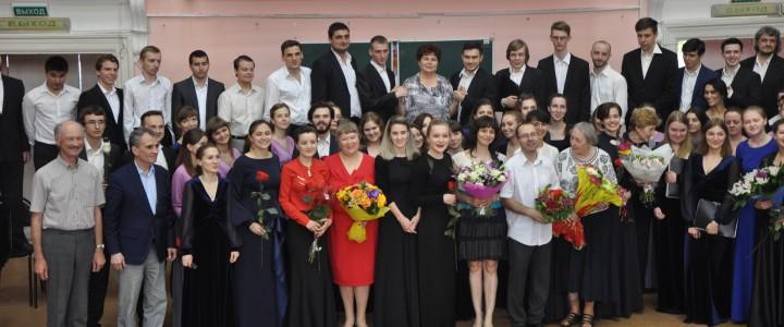 В Институте искусств состоялся Государственный экзамен по дирижированию хором