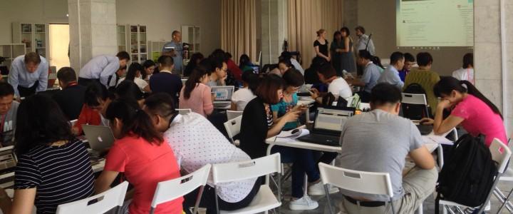 Аспиранты Вэйнаньского педагогического университета (КНР) обучаются в МПГУ