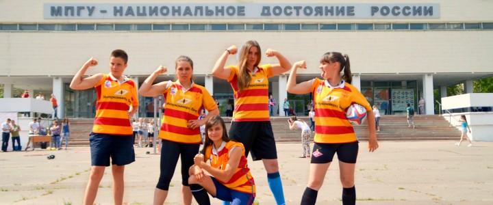 Женская сборная МПГУ по регби завоевала путевку на чемпионат России