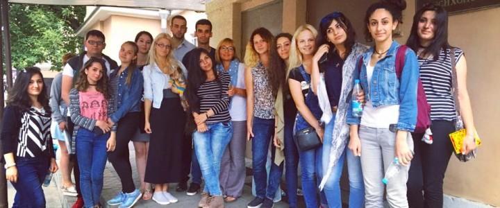 Делегация студентов АГПУ и МПГУ посетили факультет педагогики и психологии МПГУ