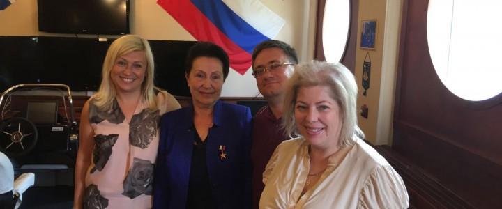 Проректор МПГУ Алексей Владимирович Коршунов встретился с экспертами Калининградской области