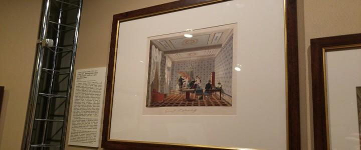 Открылась выставка «Интерьер в русской графике 19-20 веков»