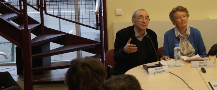 Студенты Института истории и политики на конференции о Рауле Валленберге