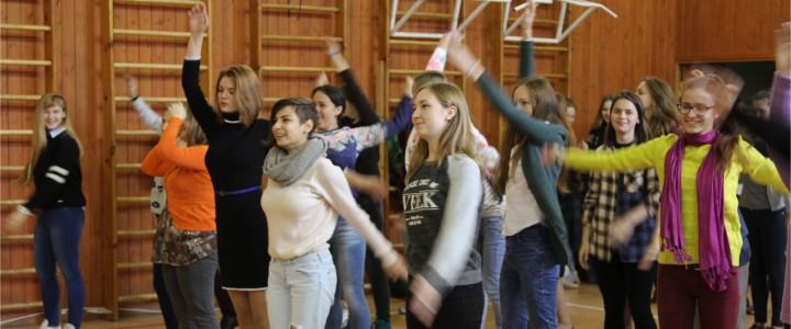 16 сентября 2016 г. Погружение студентов 1-го курса Института искусств. День танца. Мастер-класс.