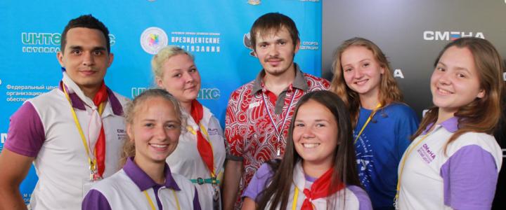 Студенты-вожатые МПГУ встретились с паралимпийцем Олегом Шестаковым
