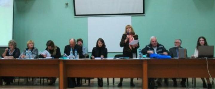 Выступление преподавателя кафедры контрастивной лингвистики на Селищевских чтениях