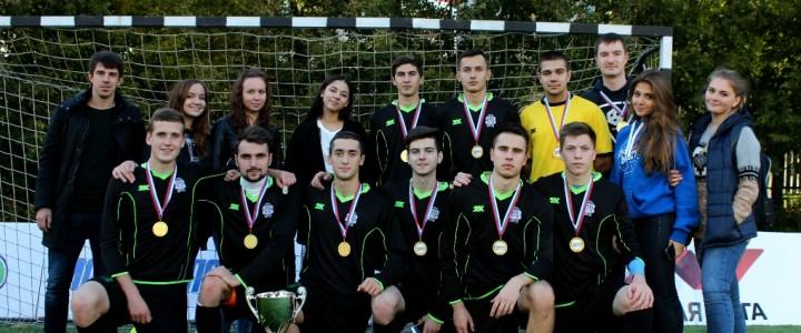 Команда МПГУ одержала оглушительную победу на студенческом турнире по мини футболу