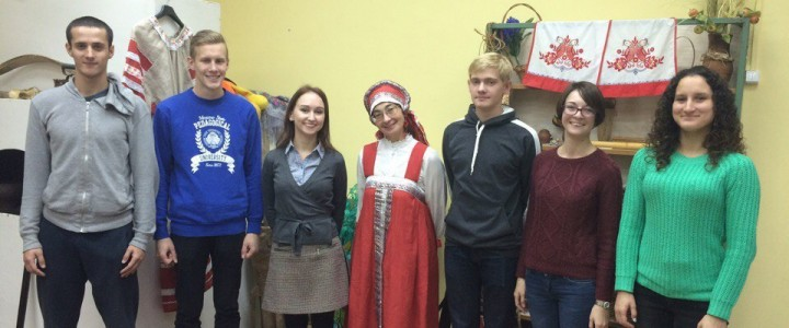 Студенты Института истории и политики посетили школьный музей