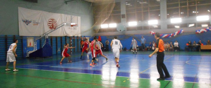 Баскетбольная команда МПГУ вышла на первое место