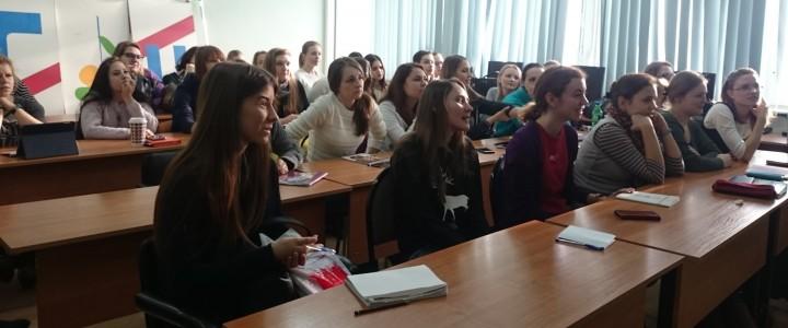 """Встреча студентов с представителями сети центров раннего развития """"Бэби-клуб"""""""