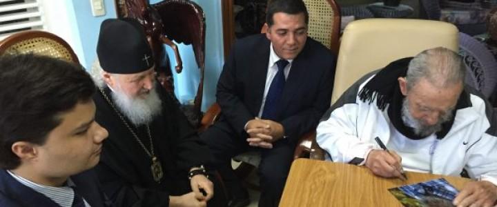 Мигель Паласио: На прощание сын Фиделя попросил Патриарха благословить его крестик