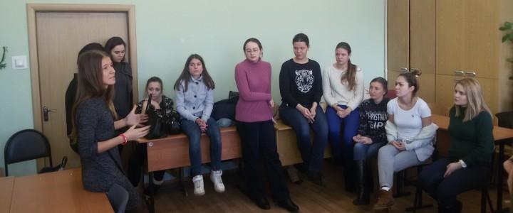 На факультете начального образования прошел мастер-класс по актёрскому мастерству