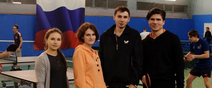 ИСГО взял серебро на соревнованиях МПГУ по настольному теннису!