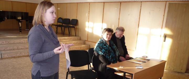 Встреча студентов музыкального факультета с Заржицкой Л.С.