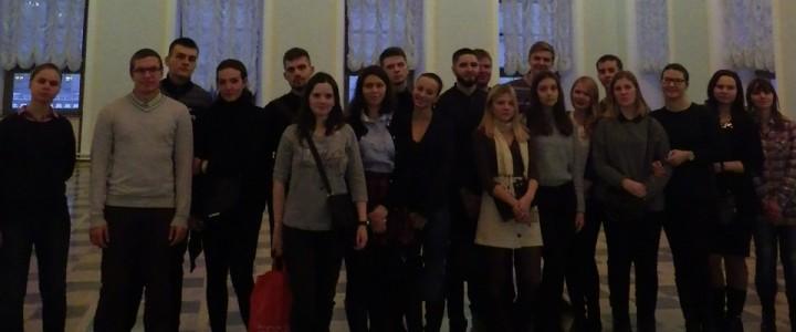 Студенты-историки побывали в Доме Пашкова
