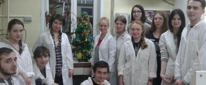 Химическая ёлка от лаборатории органической химии