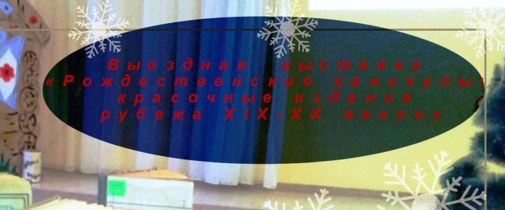 Выездные выставки « Зимние вакации: чтение, игры и развлечения для всей семьи» для участников литературно-просветительского проекта