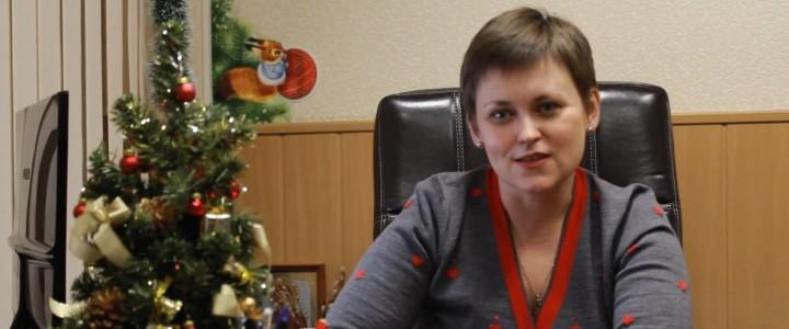 Новогоднее поздравление директора ИЖКМ Татьяны Николаевны Владимировой