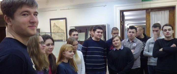 Студенты-историки посетили выставку, посвященную 250-летию Н.М. Карамзина