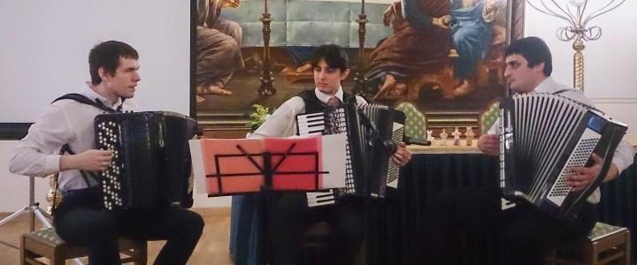 Музыканты МПГУ выступили на Рождественских чтениях
