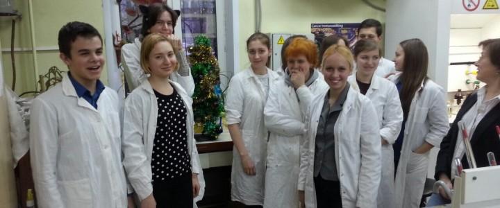 Лабораторный практикум с гимназией № 1590 имени Героя Советского Союза В.В. Колесника