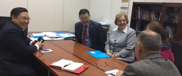 МПГУ посетил Министр образования и науки Республики Саха (Якутия)