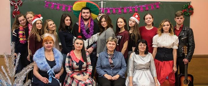 Институт Иностранных Языков на рождественской ярмарке в МИИТ